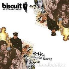 Discos de vinilo: BISCUIT ?– ROCKS MY LITTLE WORLD LP ROCK PUNK. Lote 148291814
