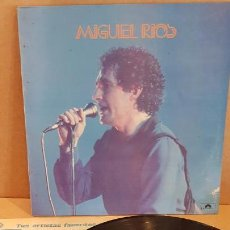 Discos de vinilo: MIGUEL RIOS / MISMO TÍTULO / LP - POLYDOR - 1984 / MBC. ***/***. Lote 148299926