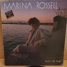 Discos de vinilo: MARINA ROSSELL / BARCA DEL TEMPS / LP - CBS - 1985 / MBC. ***/***. Lote 148302862