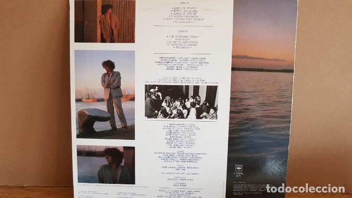 Discos de vinilo: MARINA ROSSELL / BARCA DEL TEMPS / LP - CBS - 1985 / MBC. ***/*** - Foto 2 - 148302862