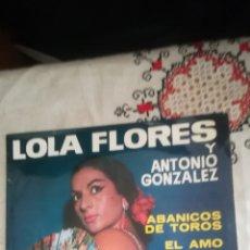 Discos de vinilo: ANTIGUO VINILO DE LOLA FLORES. Lote 148311833