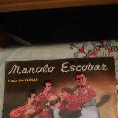 Discos de vinilo: ANTIGUO VINILO DE MANOLO ESCOBAR. Lote 148313665