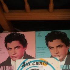 Discos de vinilo: 3 ANTIGUOS VINILOS DE ANTONIO MOLINA. Lote 148315229