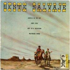 Discos de vinilo: BRUCE CABOT Y ORQUESTA – OESTE SALVAJE - EP SPAIN 1959 - ARLEQUIN 1012. Lote 148322650