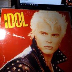 Discos de vinilo: BILLY ÍDOL-LA WOMAN. Lote 148324890