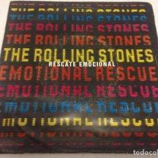 Discos de vinilo: THE ROLLING STONES - EMOTIONAL RESCUE = RESCATE EMOCIONAL-EDICION SPAIN 1980. Lote 148330478