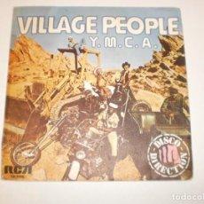 Discos de vinilo: SINGLE VILLAGE PEOPLE. Y. M. C. A. THE WOMEN. RCA 1978 SPAIN (PROBADO Y BIEN, SEMINUEVO). Lote 148332882