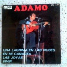 Discos de vinilo: DISCO DE ADAMO CONTIENE 4 TEMAS 1968. Lote 148335814