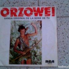 Discos de vinilo: BANDA SONORA ORIGINAL DE LA SERIE ORZOWEI. Lote 148337754