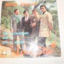 Discos de vinilo: SINGLE LONE STAR. AMOR BRAVO. MIS VACACIONES. SIN FE. ESO ES AMOR. EMI 1967 SPAIN (PROBADO SEMINUEVO. Lote 148346466
