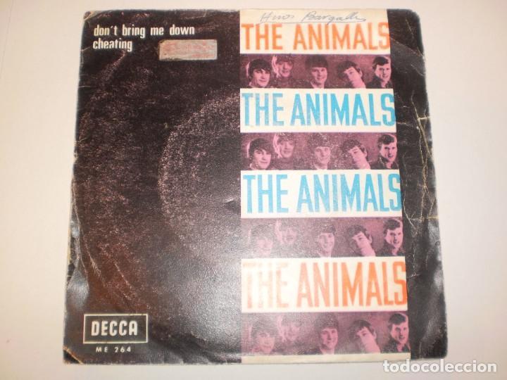 SINGLE THE ANIMALS. DON'T BRING ME DOWN. CHEATING. DECCA 1968 SPAIN (DISCO PROBADO Y BIEN) (Música - Discos - Singles Vinilo - Pop - Rock Extranjero de los 50 y 60)