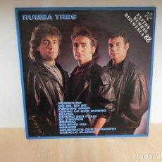 Discos de vinilo: LP - RUMBA TRES - EXITOS RUMBAS DISCOTECA 88 . Lote 148347878