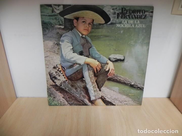 PEDRITO FERNANDEZ,LA DE LA MOCHILA AZUL (Música - Discos - LP Vinilo - Grupos y Solistas de latinoamérica)