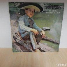 Discos de vinilo: PEDRITO FERNANDEZ,LA DE LA MOCHILA AZUL . Lote 148348970