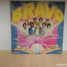 Discos de vinilo: BRAVO. 1982. HISPAVOX S 90708. LP 1982 - ALASKA Y LOS PEGAMOIDES, YURI, ETC . Lote 148349830