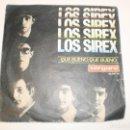 Discos de vinilo: SINGLE LOS SIREX. QUÉ BUENO, QUÉ BUENO. CHAO, CHAO. VERGARA 1965 SPAIN (DISCO PROBADO Y BIEN). Lote 148349854