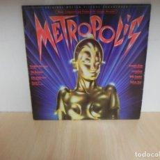 Discos de vinilo: VINILO/DISCO - LP METROPOLIS / F.MERCURY - ADAM ANTS - BONNIE TYLER...... . Lote 148350302