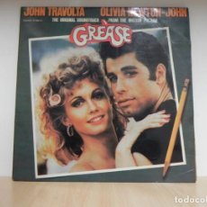 Discos de vinilo: JOHN TRAVOLTA . OLIVIA NEWTON - JOHN ORIGINAL SOUNDTRACK 2 LPS GREASE MADE IN SPAIN 1978. Lote 148350534