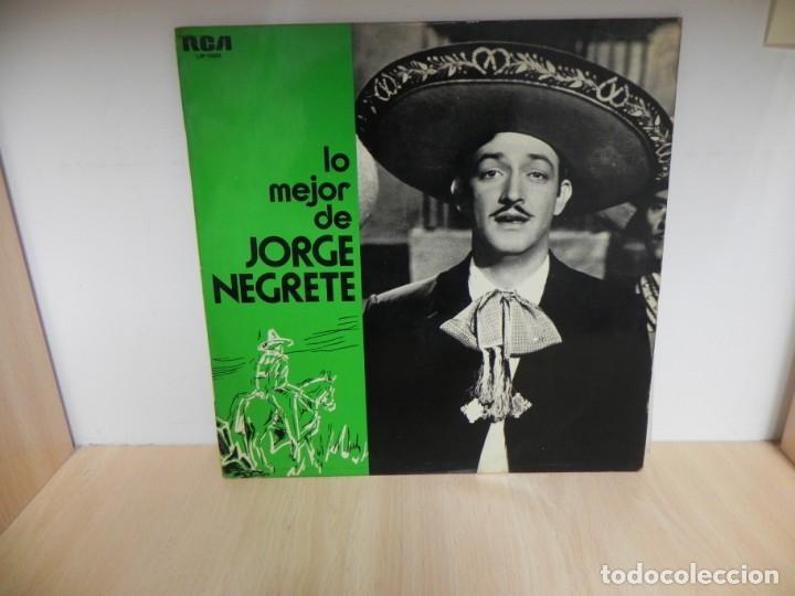 LP. LO MEJOR DE JORGE NEGRETE (Música - Discos - LP Vinilo - Grupos y Solistas de latinoamérica)