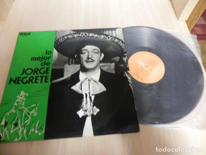 Discos de vinilo: LP. LO MEJOR DE JORGE NEGRETE - Foto 3 - 148351278