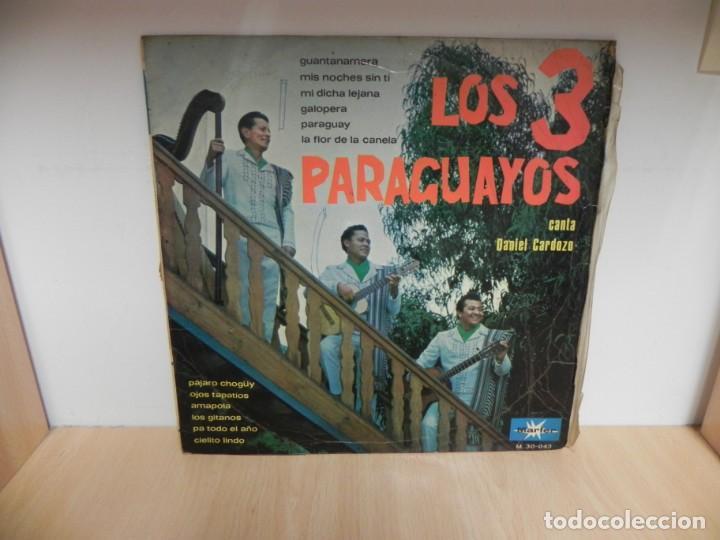 LOS 3 PARAGUAYOS LP (Música - Discos - LP Vinilo - Grupos y Solistas de latinoamérica)