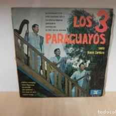 Discos de vinilo: LOS 3 PARAGUAYOS LP. Lote 148351634