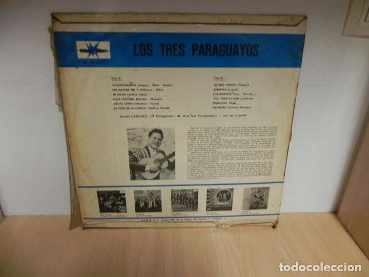 Discos de vinilo: LOS 3 PARAGUAYOS LP - Foto 2 - 148351634