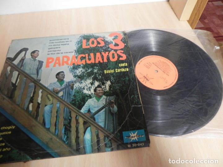 Discos de vinilo: LOS 3 PARAGUAYOS LP - Foto 3 - 148351634