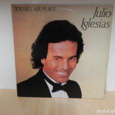 Discos de vinilo: JULIO IGLESIAS - 1100 BEL AIR PLACE - CANTA INGLÉS Y ESPAÑOL . Lote 148352086