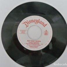 Discos de vinilo: DISCO VINILO DISNEYLAND WALT DISNEY LA BELLA DURMIENTE.SIN CARATULA.. Lote 148352794