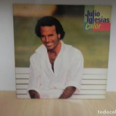 Discos de vinilo: JULIO IGLESIAS- CALOR . Lote 148353490