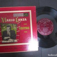 Discos de vinilo: MARIO LANZA SINGS CHRISTMAS SONGS JEFT ALEXANDER CHOIR RAY SINATRA RED SEAL LP 10 PULGADAS VG RAREZA. Lote 148353494