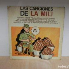 Discos de vinilo: JUAN PRADERA Y LOS CHARANGUEROS - CANCIONES DE LA MILI . Lote 148369626