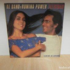 Discos de vinilo: LP ALBANO AL BANO Y ROMINA POWER FELICIDAD CANTAN EN ESPAÑOL. Lote 148370210