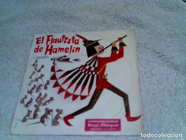DISCO EL FLAUTISTA DE HAMELIN AÑO 1967 (Música - Discos - Singles Vinilo - Música Infantil)