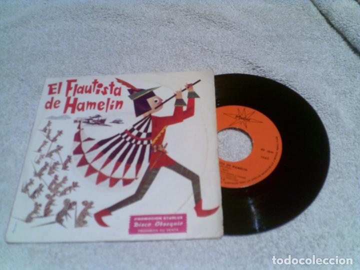 Discos de vinilo: DISCO EL FLAUTISTA DE HAMELIN AÑO 1967 - Foto 2 - 148370546