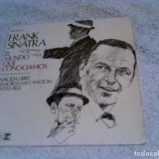 Discos de vinilo: DISCO DE FRANK SINATRA CONTIENE 4 TEMAS AÑO 1967. Lote 148370710