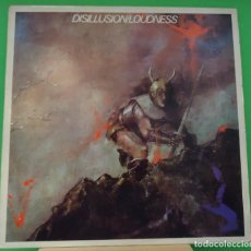 Discos de vinilo: LP LOUDNESS -DISILLUSION. Lote 148390998
