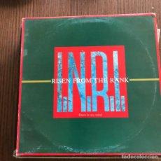 Discos de vinilo: RISEN FROM THE RANK - I.N.R.I. (RISEIN IN MY MIND) - 12'' MAXISINGLE JIVE 1985. Lote 148397450