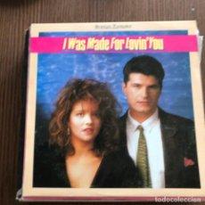 Discos de vinilo: ROMAN ROMANCE - I WAS MADE FOR LOVIN' YOU - 12'' MAXISINGLE SPLASH 1987. Lote 148398182