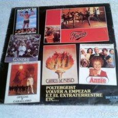 Discos de vinilo: LP DE TEMAS DE CINE 10 TEMAS DE CINE 1983. Lote 148399522