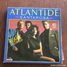 Discos de vinilo: ATLANTIDE - SANTAROSA (REMIX LONG VERSION) - 12'' MAXISINGLE ZAFIRO 19856. Lote 148402966