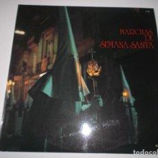 Discos de vinilo: MARCHAS DE SEMANA SANTA - VARIOS - LP. COLUMBIA 1974. Lote 148409314