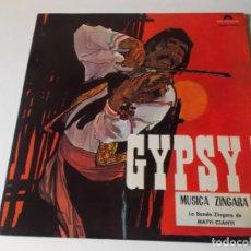 Discos de vinilo: LA BANDA ZÍNGARA DE MATYI CSANYI – GYPSY! MUSICA ZINGARA SELLO: POLYDOR – 184019, POLYDOR – 184. Lote 148413370