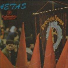 Discos de vinilo: SAETAS. Lote 148416294