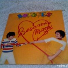 Disques de vinyle: DISCO DEL GRUPO INFANTIL BOTONES ,BESAME MAMI Y DOCTOR BRUJO ,1979. Lote 148431046
