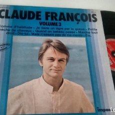 Discos de vinilo: LP ( VINILO) DE CLAUDE FRANÇOIS . Lote 148441010