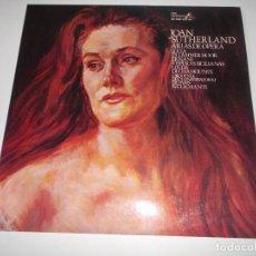 Discos de vinilo: JOAN SUTHERLAND ARIAS DE OPERA LUCIA DI LAMMER MOOR ,ERNANI,VISPERAS SICILIANAS,. Lote 148443194