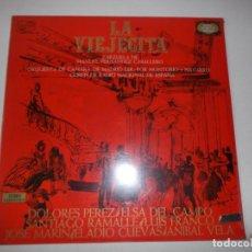 Discos de vinilo: LA VIEJECITA ZARZUELA DE MANUEL FERNANDEZ CABALLERO ZAFIRO 1972. Lote 148451014