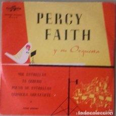 Discos de vinilo: PERCY FAITH: MIL ESTRELLAS + 3 TEMAS - EP COLUMBIA 1955. Lote 148451798